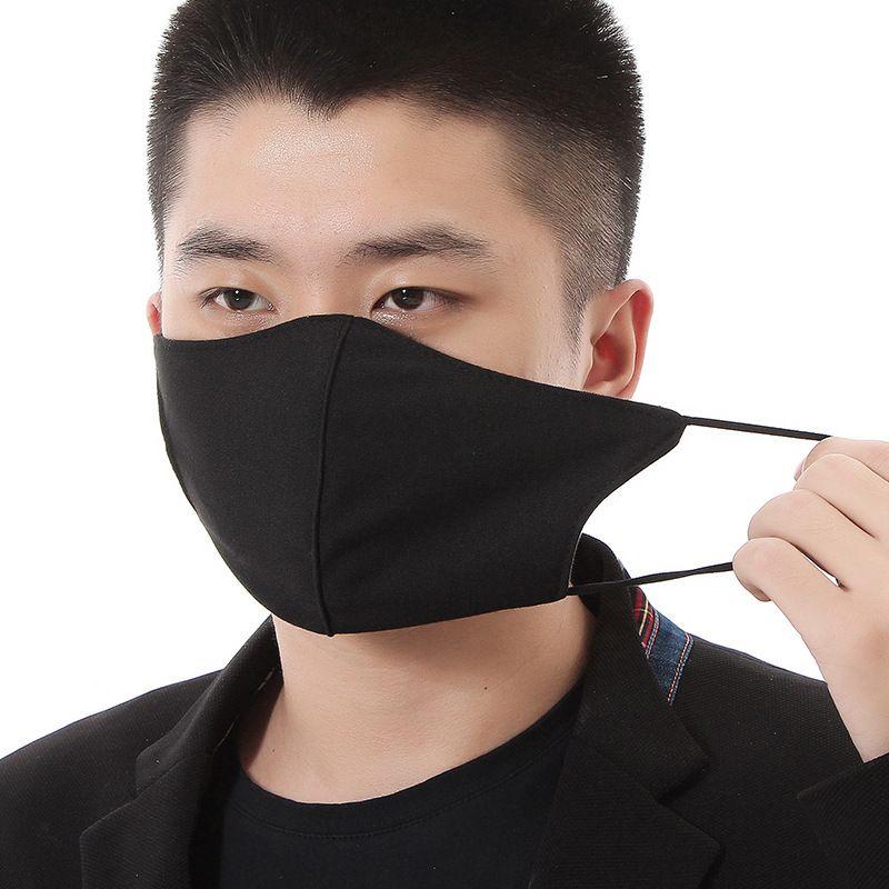 Sigara Tek Yüz Maskeleri Kalın Karşıtı Soğuk Ağız Unisex Yumuşak Respiratörler Erkekler Kadınlar Mascherine Toptan 2 5A'larla H1 Maske