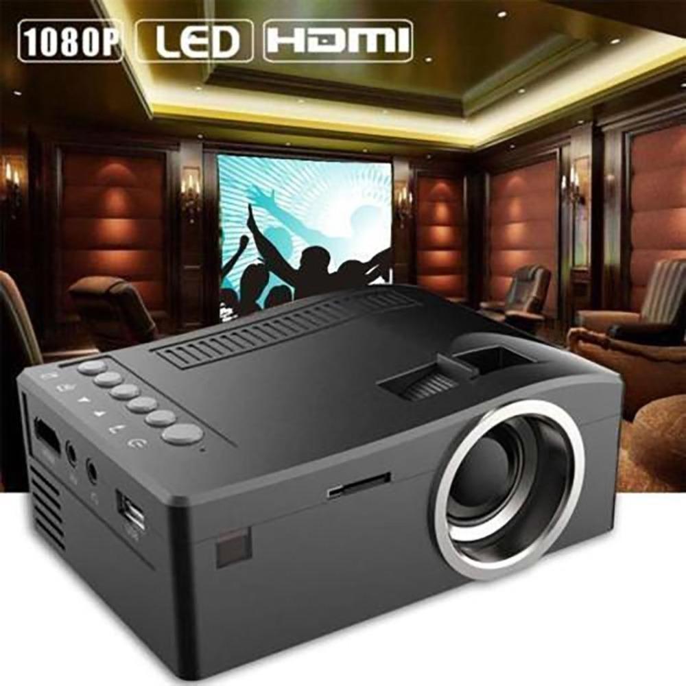 T16 Mini Portable Filaire Led Lcd Projecteur Affichage Home Cinéma Cinéma Hd 1080p Proyector Hdmi Usb Av Vga Sd Médias Poche Beamer T190620