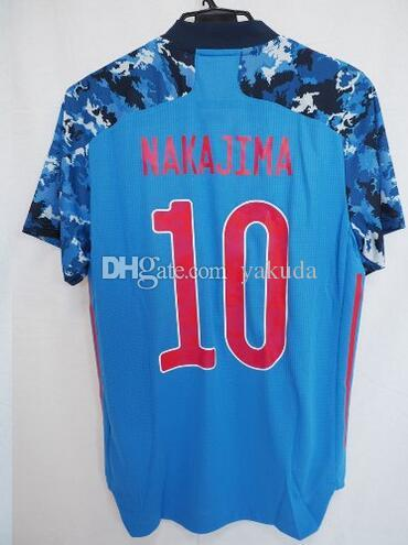 Top 19-20 maßgeschneiderte 10 Nakajima Thai Qualität Fußballjerseys 8 Haraguchi 10 Kagawa 9 Okazaki 7 Shibasaki 18 Asano 22 Yoshida Fussball Verschleiß
