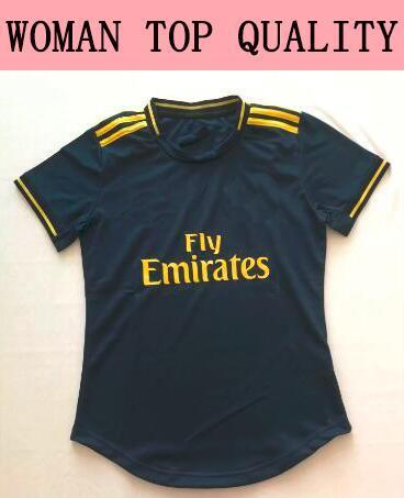 새로운 여성 아스날 멀리 파란색 축구 유니폼 20분의 2,019 여자 하이버리 축구 셔츠 2,020 포수 여자 축구 여자 셔츠