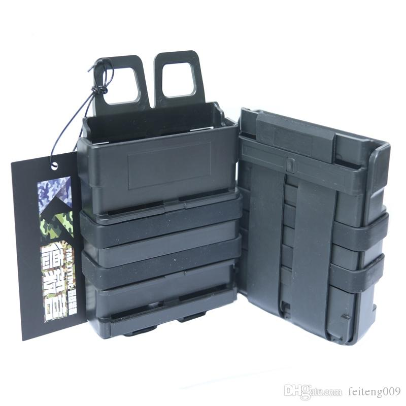 TAK YIYING Tactical Molle FastMag Mag Clip Set for 7.62 mag pouch FOR M4 MAG #802176