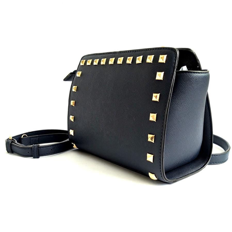 Mulheres Messenger Bags Casual Shoulder Luxo Rivet Femme Moda Bag mulheres sacos Designer Shoulder bolso de alta qualidade saco sacos # 283