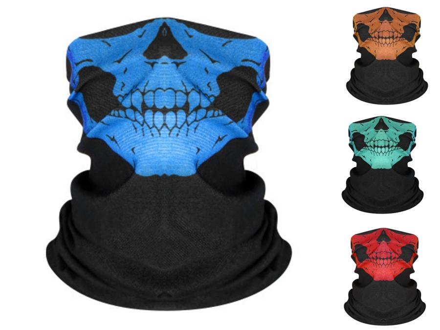 Cuny Halloween 2020 2020 Seamless Multi Function Magic Skull Scarf Cycling Masks To