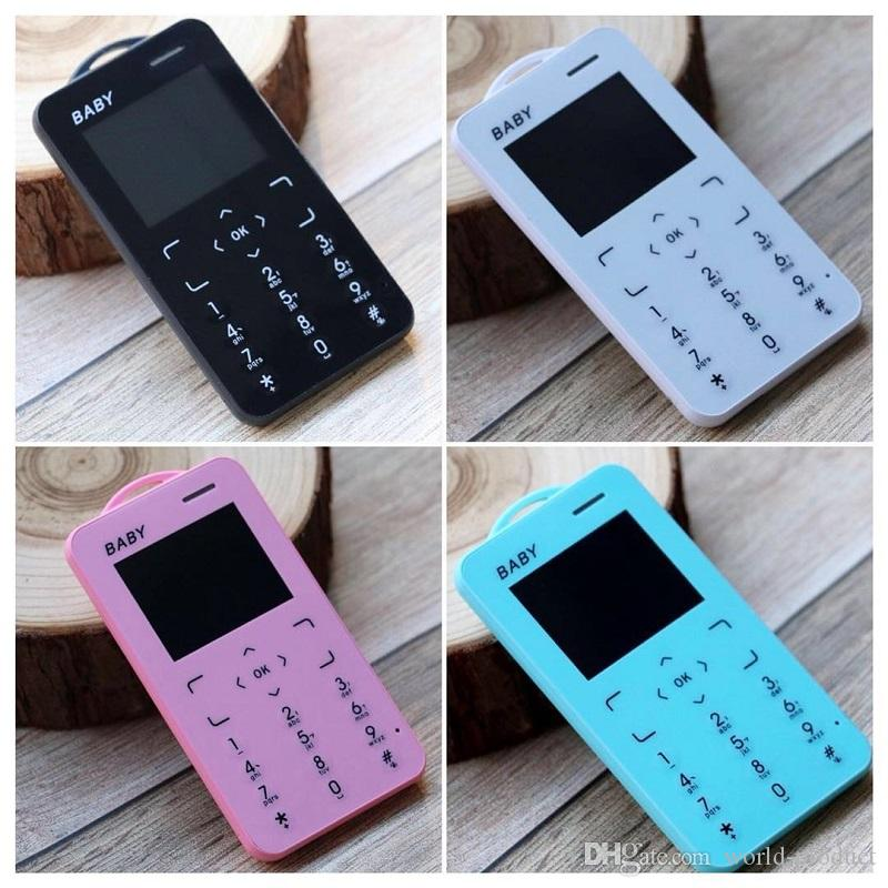 T5 Child MINI mobile phone Ultra thin student card low radiation button Support TF card small size Slim mobile phone