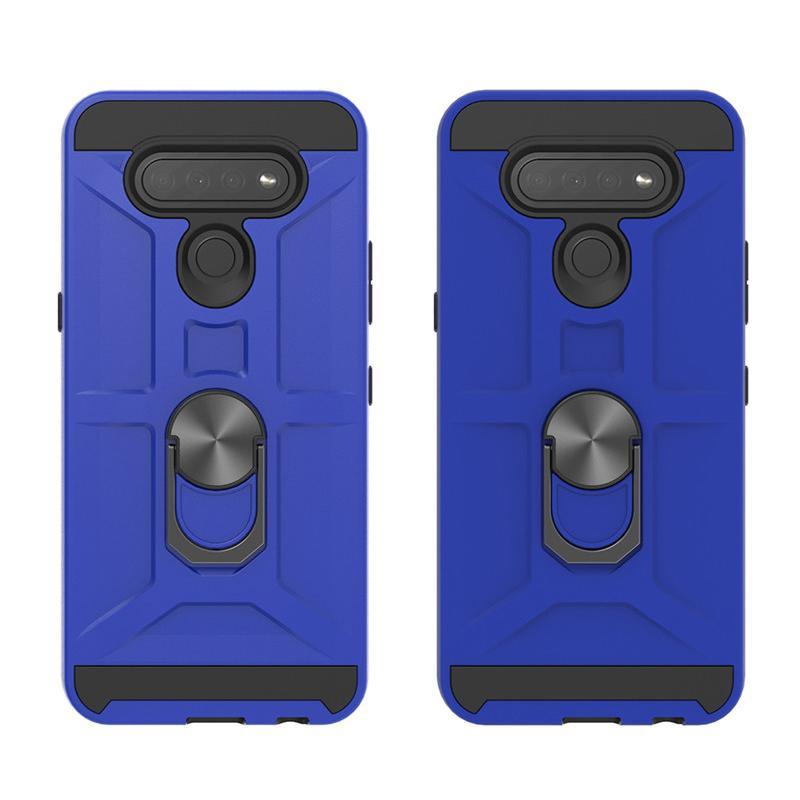2020 Holder Copertura di vendita calda del telefono mobile per LG K51 con il telefono anello di protezione completa Shell posteriore per LG Stylo 6