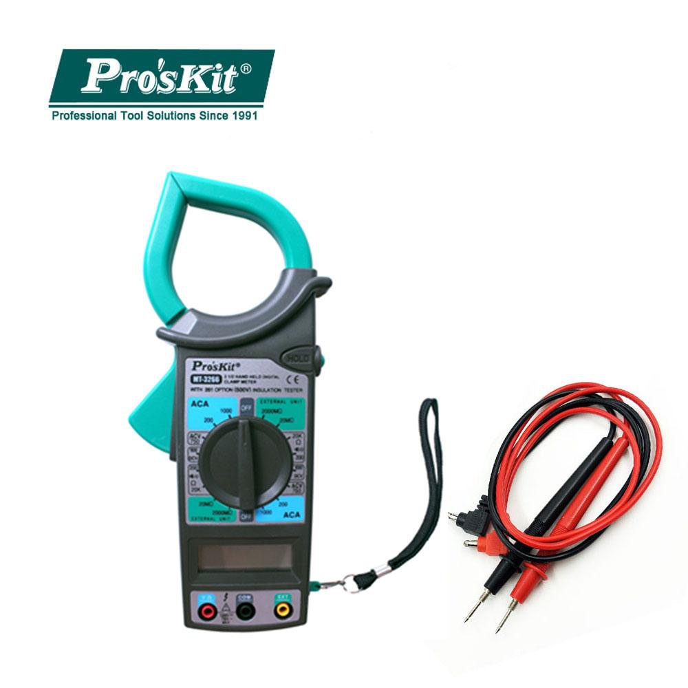 Pro'skit 1000A High Precision Electrician Maintenance 1/2 Digital Clamp Meter Multimeter Electrician AC DC Current Test Meter