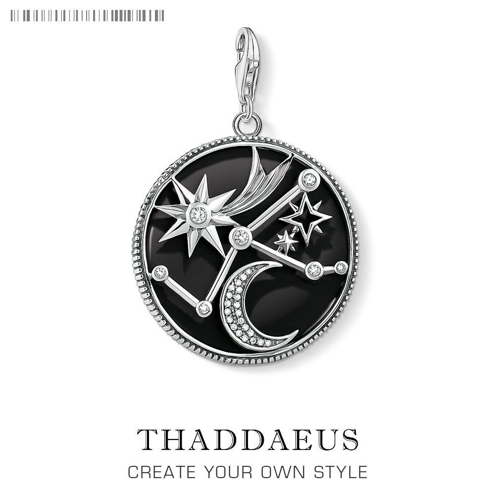 Charm Pendant Astro Disc, 2019 Nuevo estilo de joyería de Thomas para mujeres hombres regalo de moda en 925 pulsera de plata esterlina