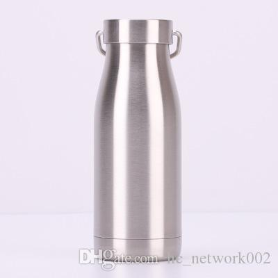 350ML Stainless Steel Water Bottle Milk Bottle Vacuum Portable Insulated Leak Proof Double Wall Keep 24 Hour HOT and COLD