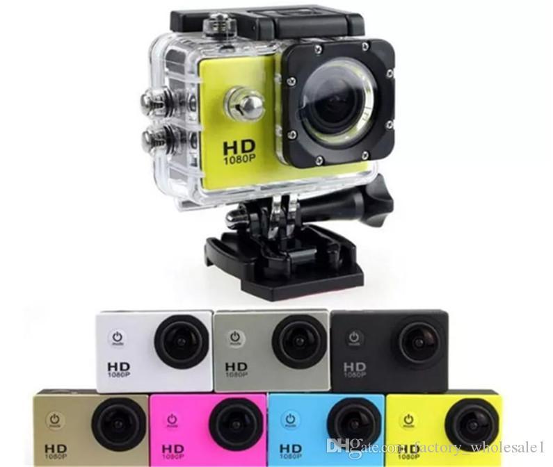 A9 SJ4000 1080P Full HD Action Digital Sport Camera 2 Inch Screen Under Waterproof 30M DV Recording Mini Sking Bicycle Photo Video