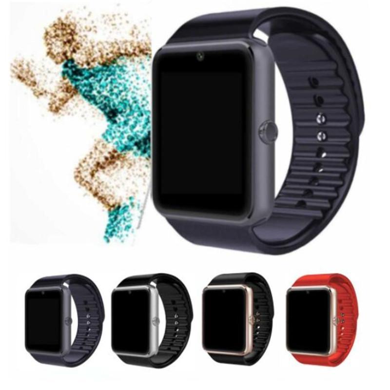 새로운 스마트 시계 Android GT08 PKU8 A1 삼성 스마트 시계 SIM 지능형 휴대 전화 시계 레코드 Sleepstatus Smart Watch Mens Woman
