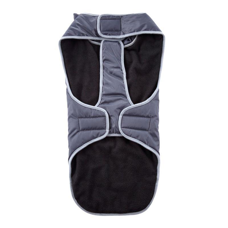 Водонепроницаемая Одежда для собак Big Dog Patch-работа куртка флис Внутренний слой собак Pet Winter Теплые пальто Жилет Одежда для собак Средний Большой