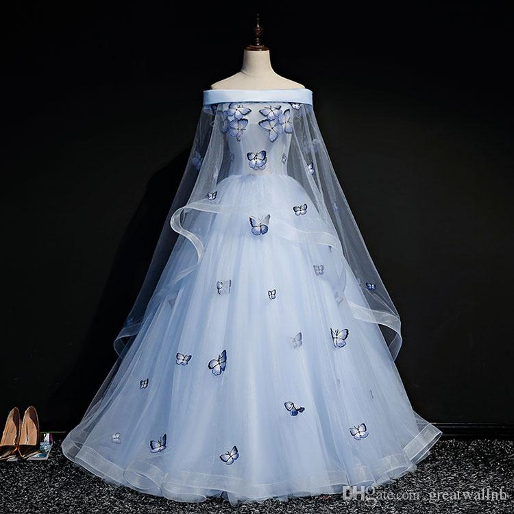 Butterfly Ball Gown