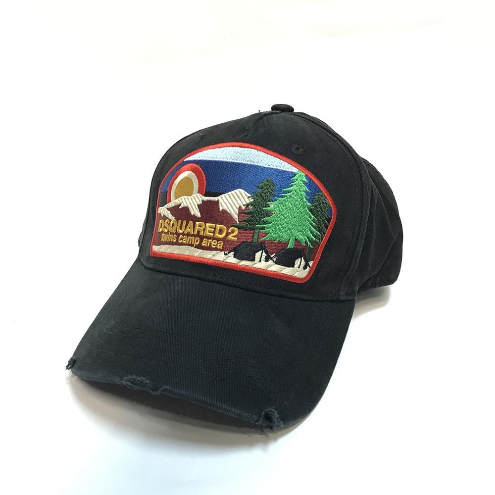 D2 Cap Hip Hop-Baseballmütze-Hut-klassische Outdoor DeanDan Caten Hut für Männer Frauen Caps Casquette Hüte Brief Stickerei Gorras 3817