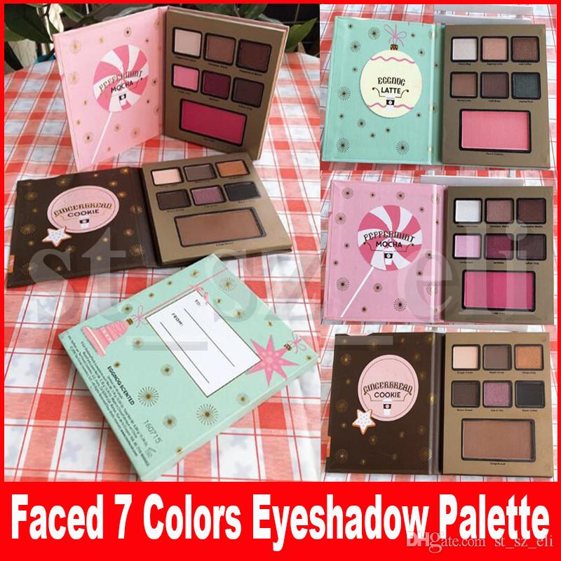 New Makeup Eyeshadow Gingerbread cookie peppermmi mocha eggnog latte eyeshadow 3 types waterproof