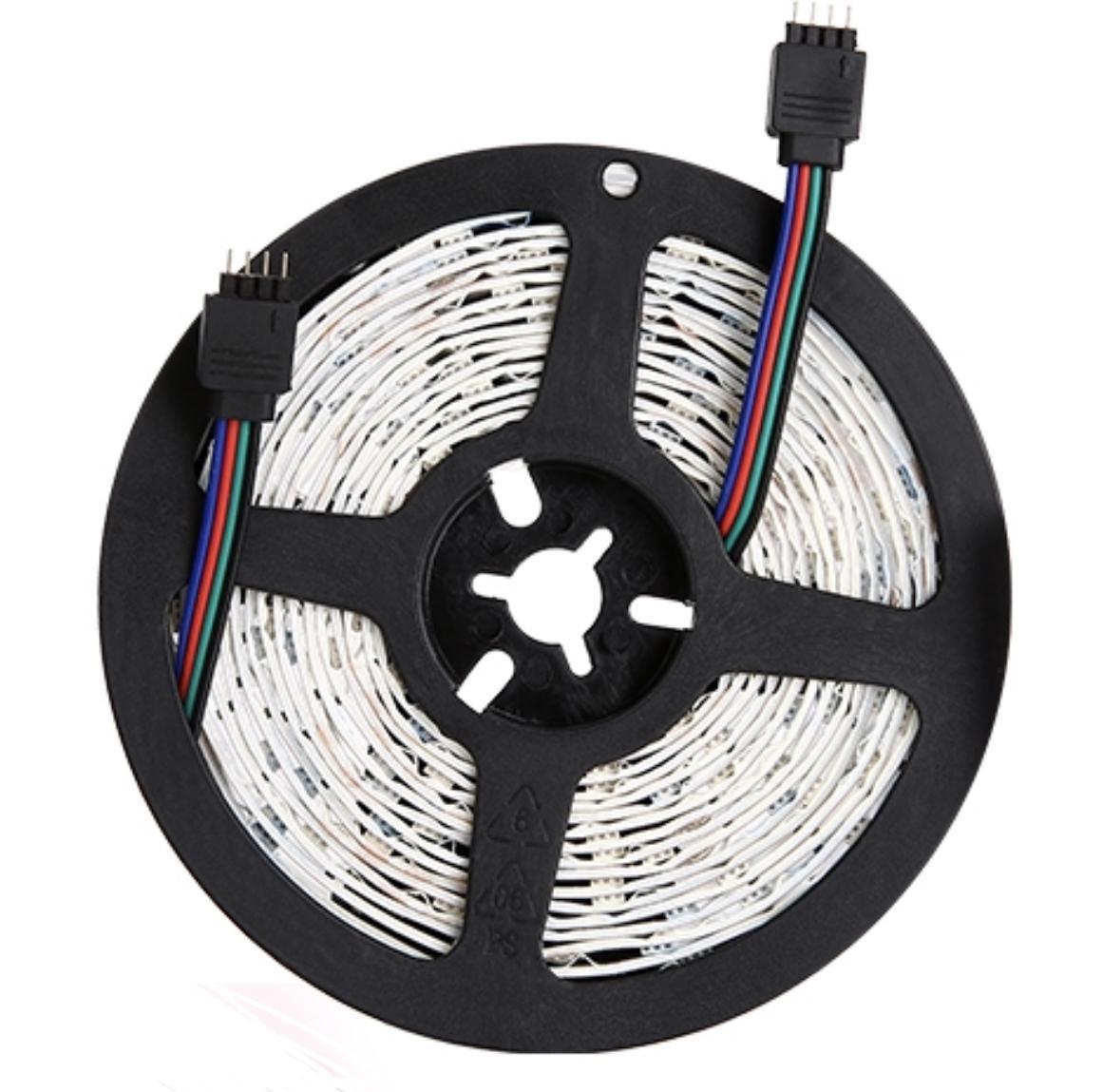 Aydınlatma Aydınlatma LED Şerit Işıkları RGB 16.4FT / 5 M SMD 5050 DC12V Esnek Les Şeritler Işıklar 50LED / Metre 16 Sonfferent Static Renkler