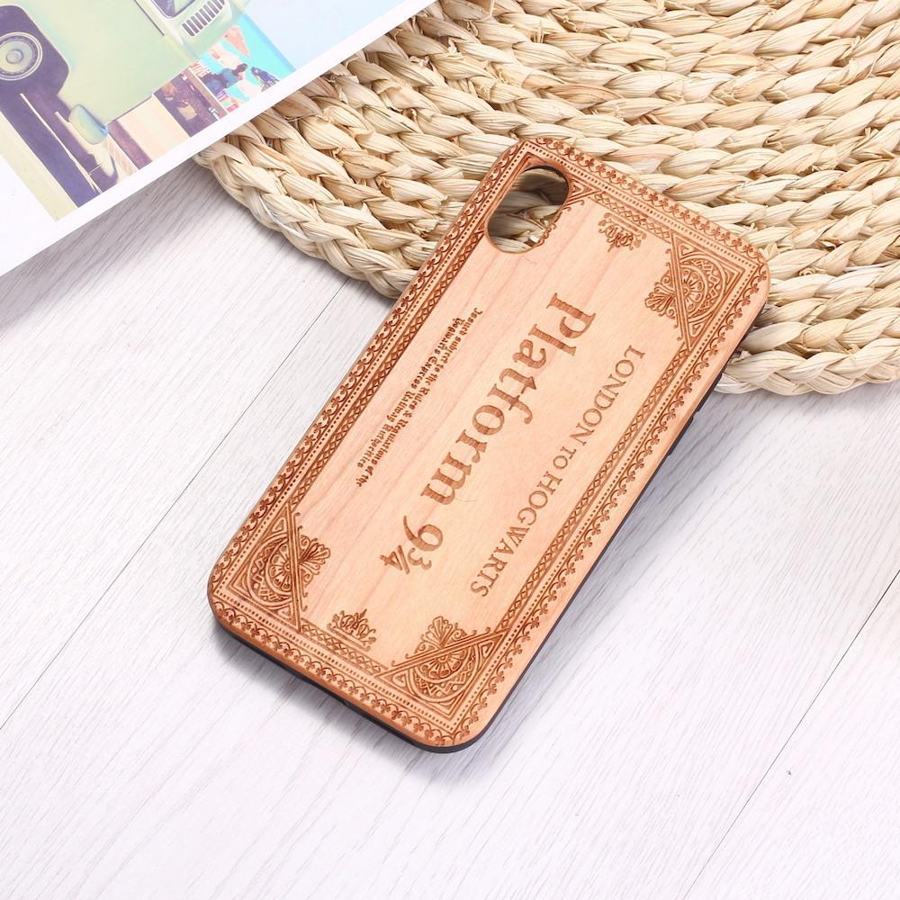 الجملة حقيقية الخشب لحالة فون 11 XS ماكس XR سامسونج الخيزران سكن الراقي S9 ريترو الغلاف حامي نحت خشبي الهاتف شل