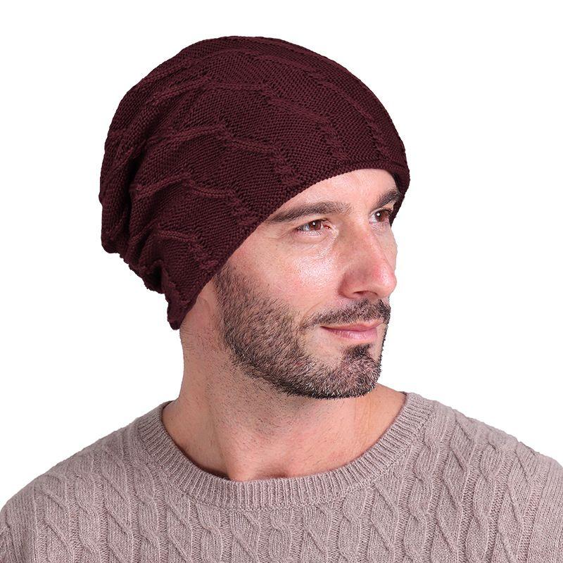 Inverno donne HatNew Autunno Faux Fur femminile caldo berretto di maglia Beanie Ragazze Cappelli donna Bonnet Femme Chunky spessore elastico HatsT01