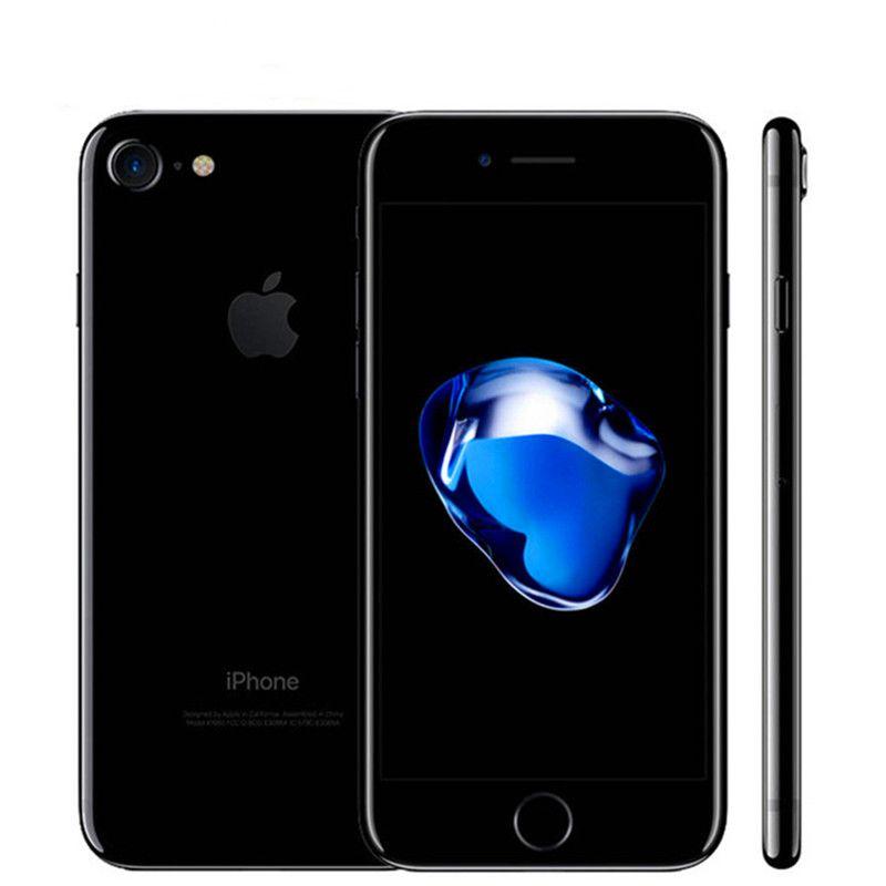 Разблокированный Apple iPhone 7 4G LTE Сотовый телефон 32 / 128GB / 256GB IOS 12.0MP Камера Четыреячника Четыреячника 12МП 1960 мА
