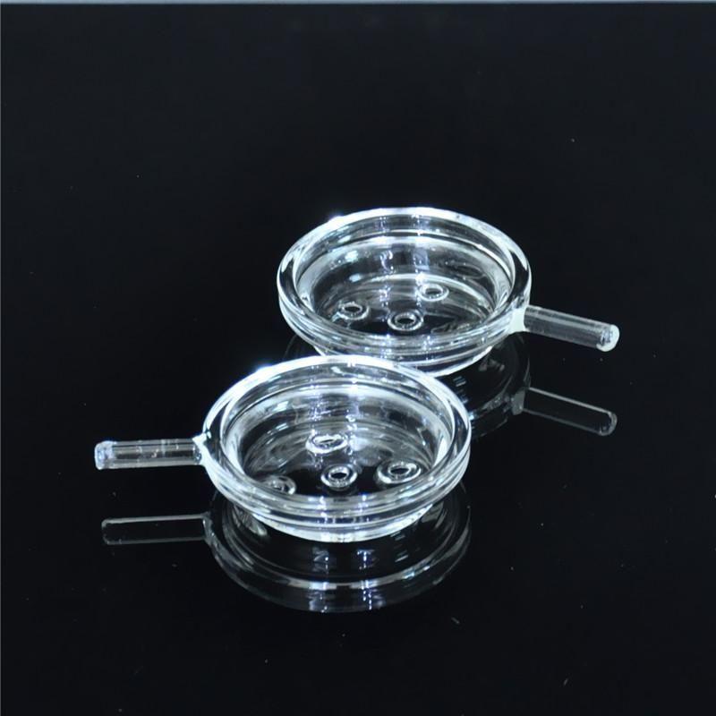 New Glass Hookah Shisha Charcoal Holder Chicha Tobacco Cover for Glass Al Fakher Hookah Smoking Hookah Bowl Head Narguile Nargile Glass Tra