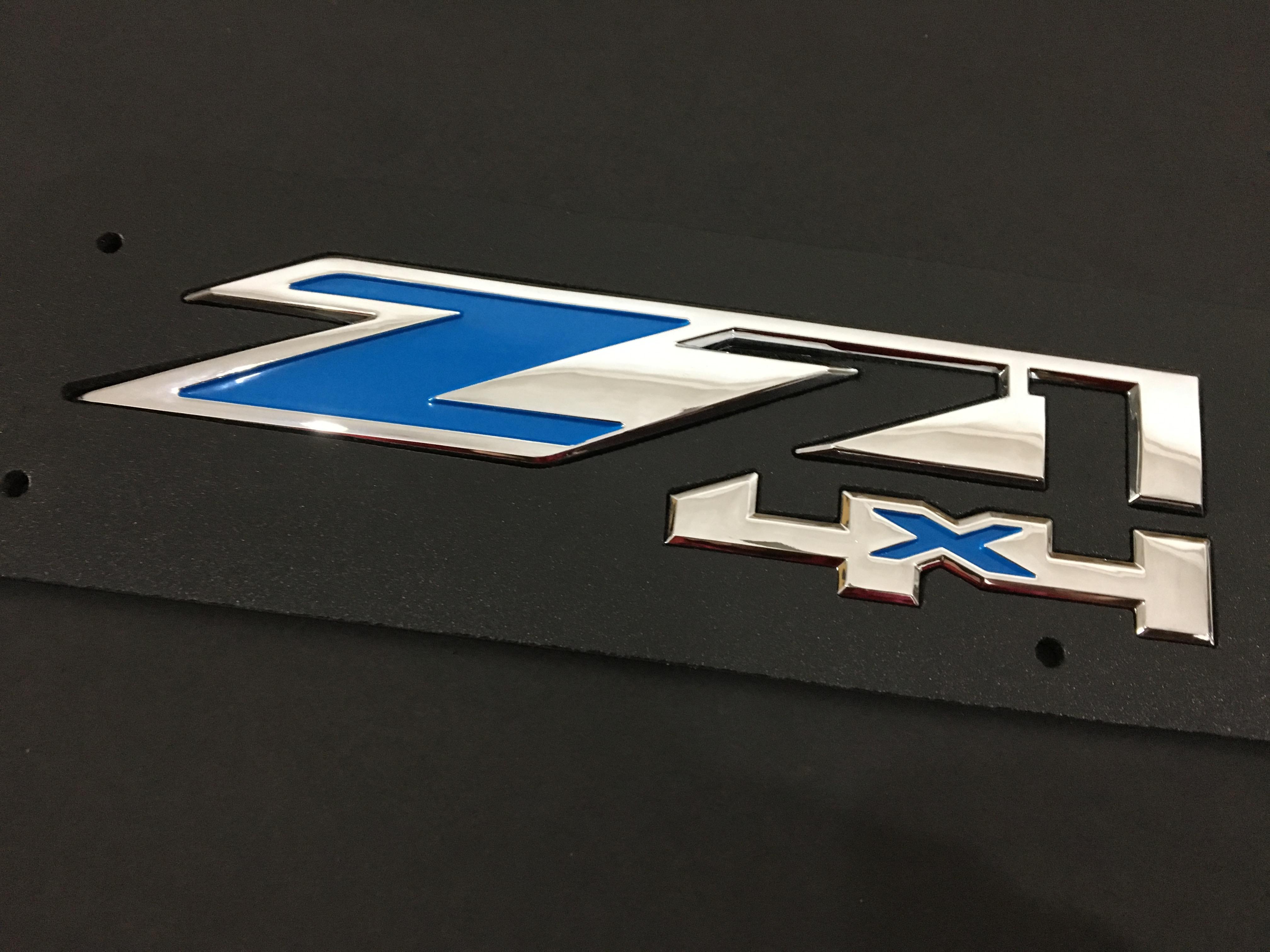 Big Z71 4x4 شعار ABS شارة ل شيفي سيلفرادو سييرا سبعبربان سيارة الذيل بوابة بوابة