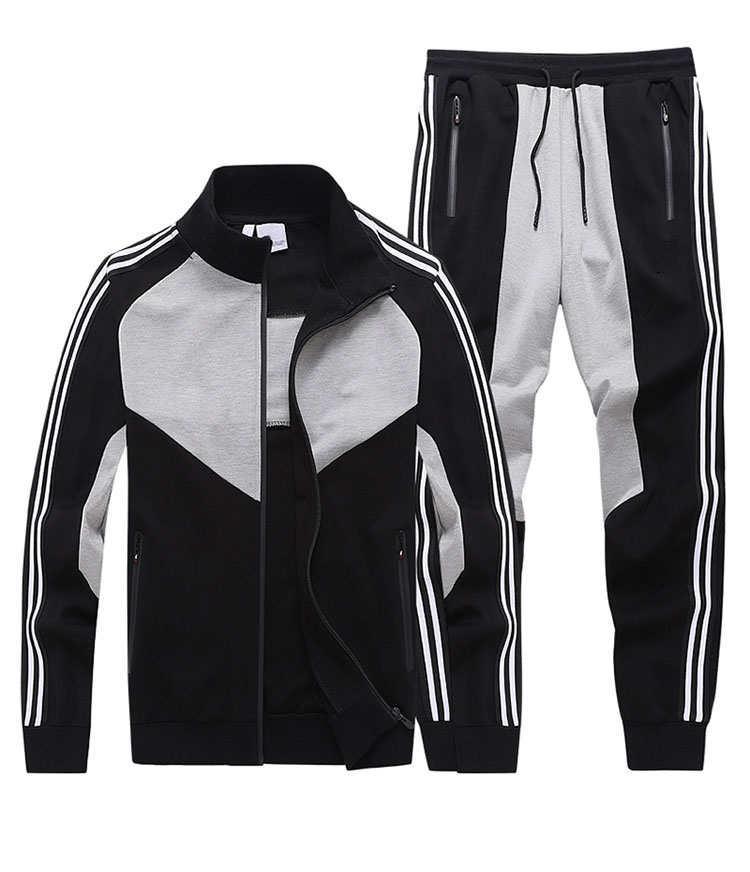 Designer hommes survêtements Marque S / F Hommes Vestes + joggeurs costumes 2020 Nouvelle Arrivée Plus La Taille de luxe C0py Survêtement 2 couleurs YF203101
