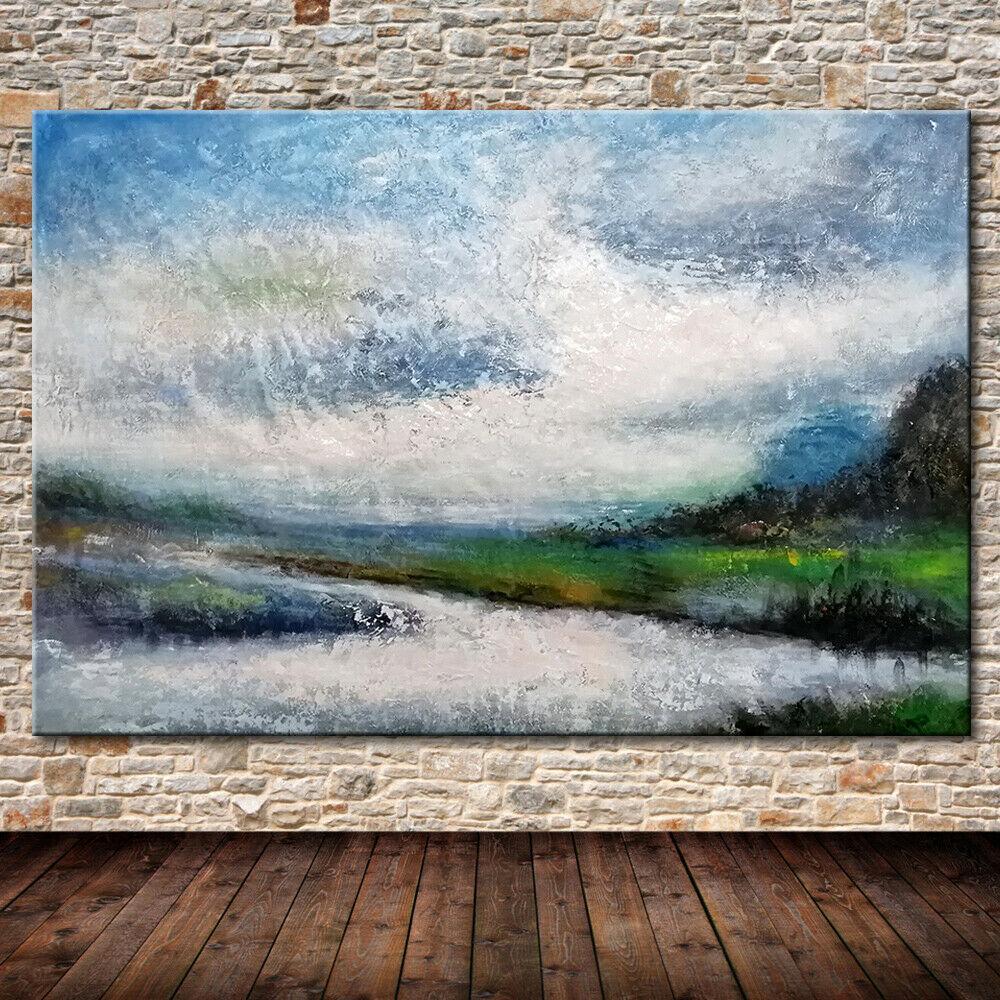 Tuval Wall Art Pictures 200 günü -.5-0063 # Özet Manzara Ev Dekorasyonu Handpainted HD Baskı Yağlı Boya