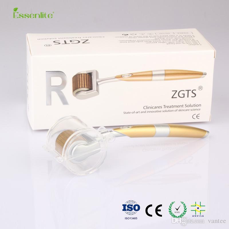 Ringiovanimento della pelle ZGTS 192 Derma Roller CE ha approvato l'alta qualità di titanio Dermaroller cicatrice Roller Pelle 0,2 ~ 0,3 millimetri
