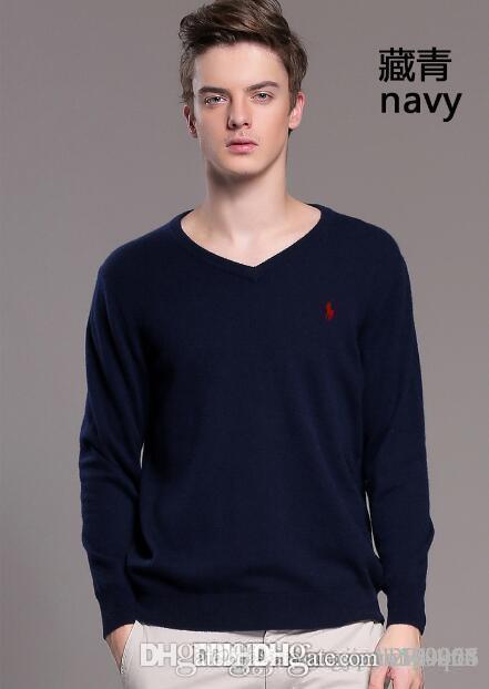 Uomo autunno inverno maglione e nuova base a maglia maglione versione coreana di ultima linea maschile