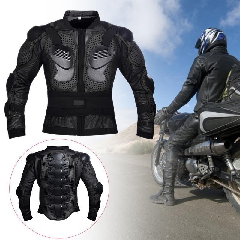 Giacca da motociclista Full Body Armor Jacket Spine Chest Protector Jacket Riding Riding Coat Racing