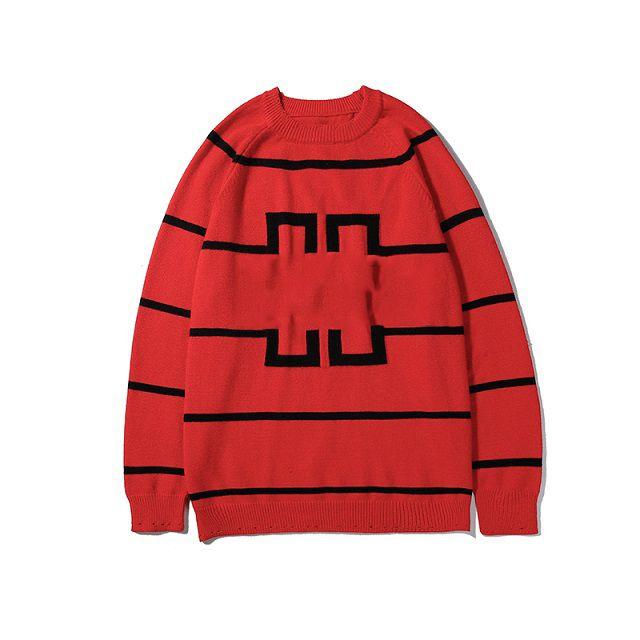 Mens Designer Pullover Mode Buchstaben Stickerei Luxus Muster Herren Kleidung Asiatische Größe 2 Farben Top Qualität Großhandel