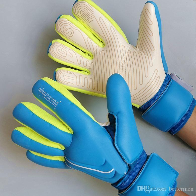 Luvas profesional de guantes de portero de fútbol modelo SGT encargado de la meta Guantes dropship proveedor mayorista