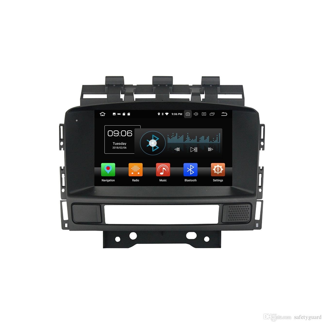 """안 드 로이드 8.0 Octa 코어 2 din 7 """"자동차 DVD 멀티미디어 Opel 아스트라 J 2010 2011 2012 2013에 대 한 GPS 라디오 4 기가 바이트 RAM 블루투스 WIFI 32 기가 바이트 ROM"""