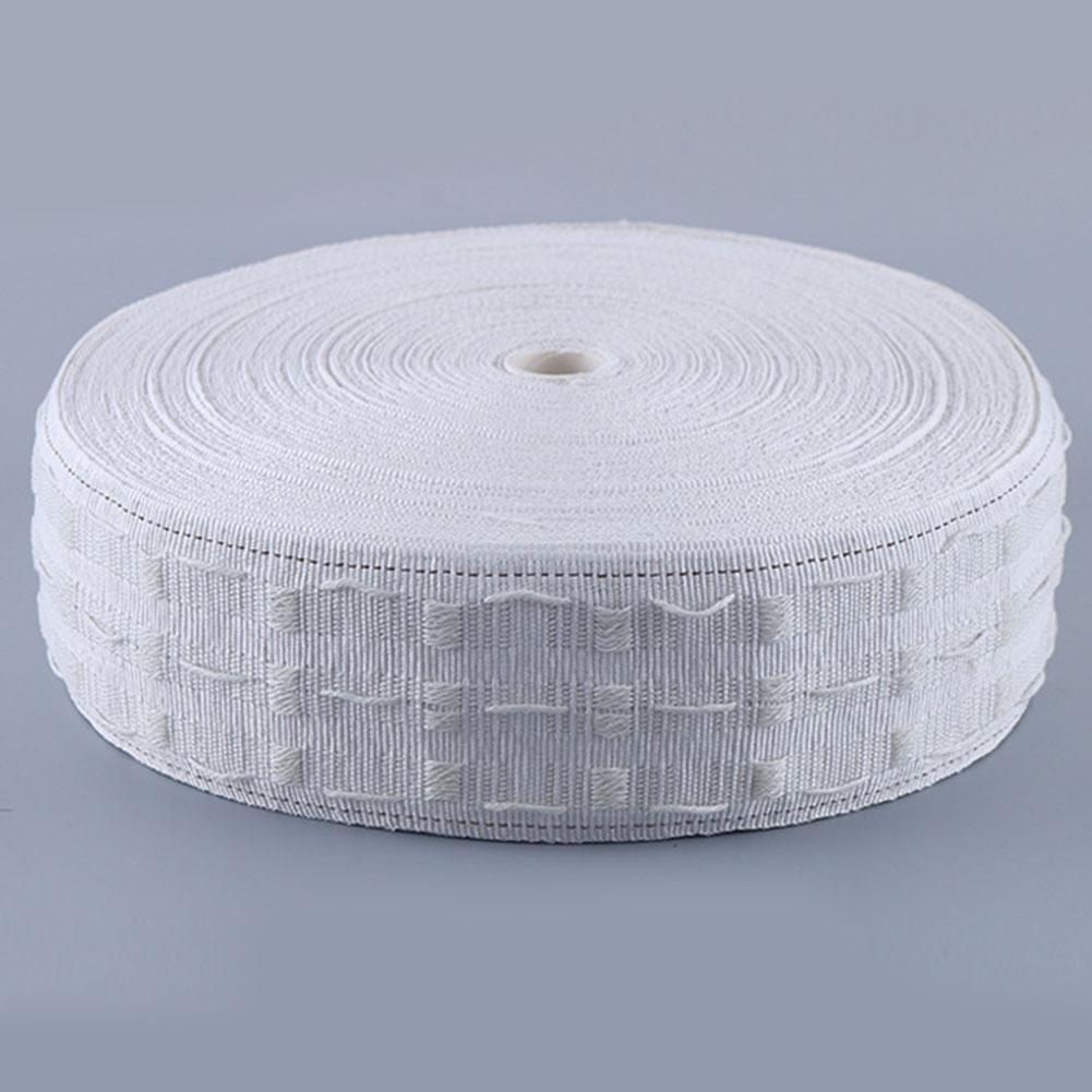 10M Прицепных занавес кольца пояс Grommet занавес Pleat ткань люверсы Штамповка крючок лента Другое Home Decor