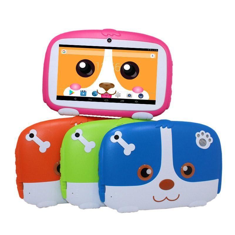 Q567 رباعية النواة طفل اللوحي 7 بوصة شاشة الروبوت 9.0 AllWinner لA50 الحقيقي ROM 1GB RAM 16GB مع بلوتوث WIFI