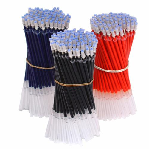 Pen Refill Office Signature Rods For Handles 0.5mm Red Blue Black Ink Refills School Supplies Stationery Writing Tools