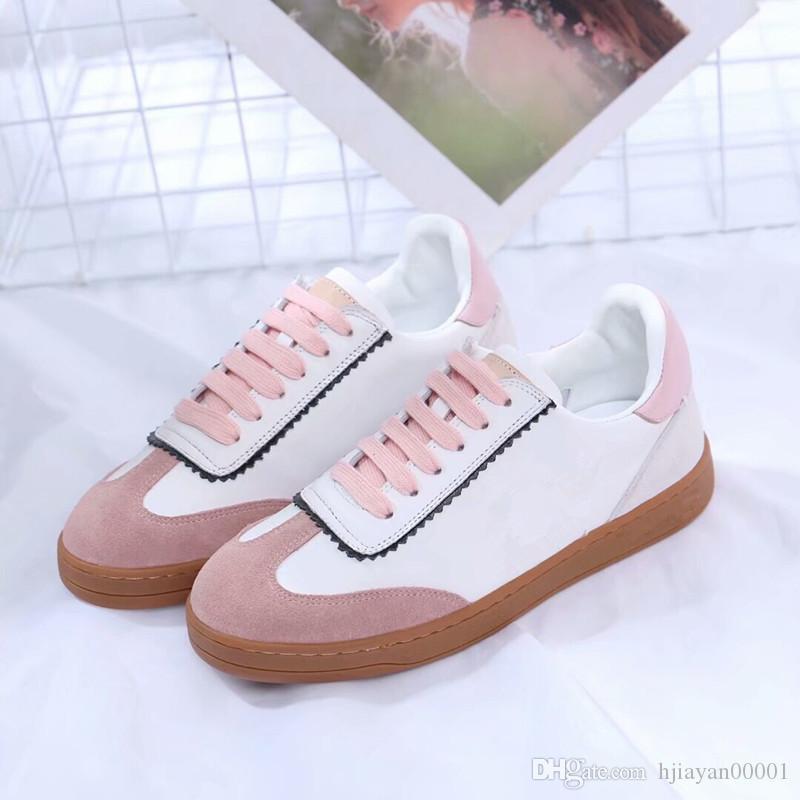 2019 Chain Reaction Uomo Donna Luxury Designer Scarpe Best Quality Fashion Sneakers Scarpe da ginnastica Scarpe casual con sacchetto di polvere dx190703