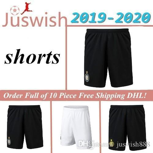 Lukaku LAUTARO SKRINIAR Inter 2019 2020 Milan Futebol Shorts ALEXIS GODIN Barella Jersey 19 20 futebol Shorts Homens Mayorista