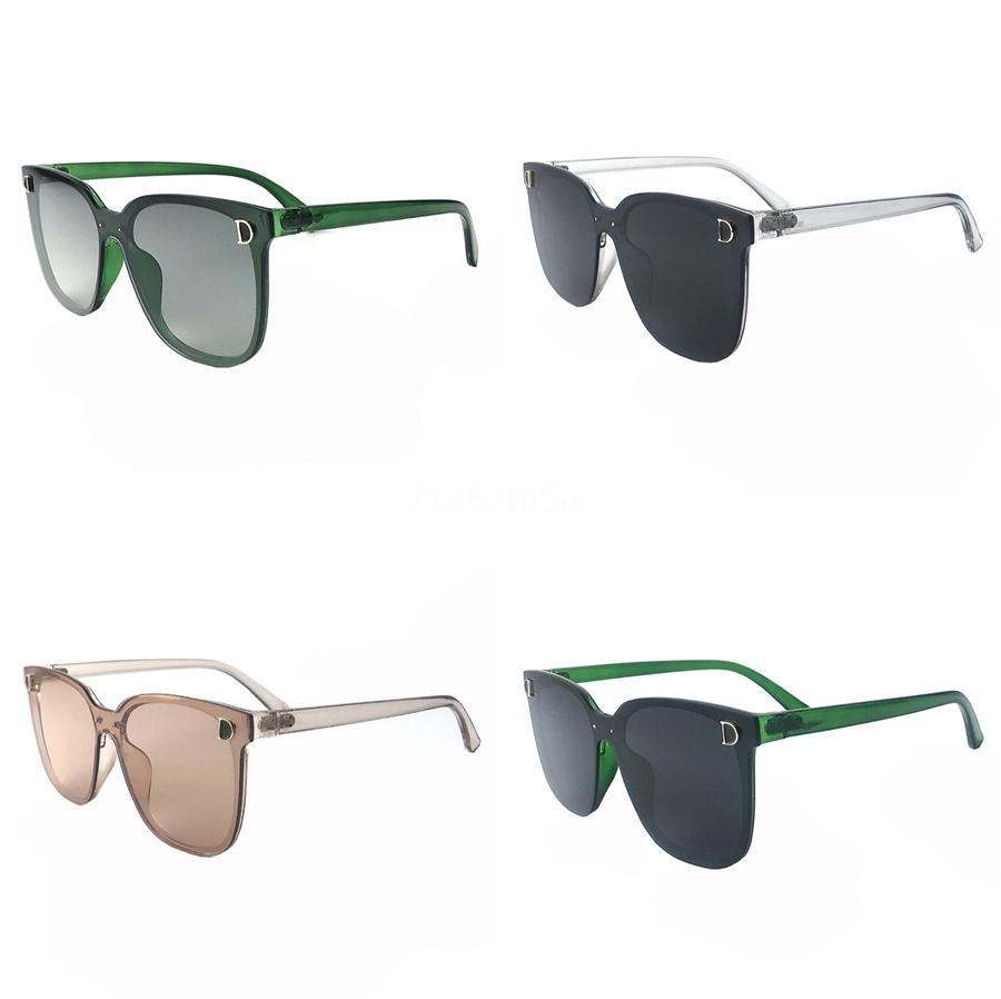 Взрослый мягкий чувствовать себя матовая рамка солнцезащитные очки красочные конфеты солнцезащитные очки взрослые солнцезащитные очки детские прохладные круглые очки UV400#740