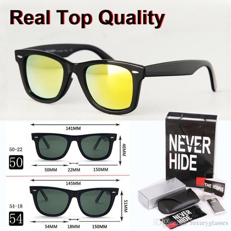 Nueva llegada clásico gafas de sol polarizadas mujeres de los hombres de metal bisagra Gafas retro con la caja original, paquetes, accesorios, todo!