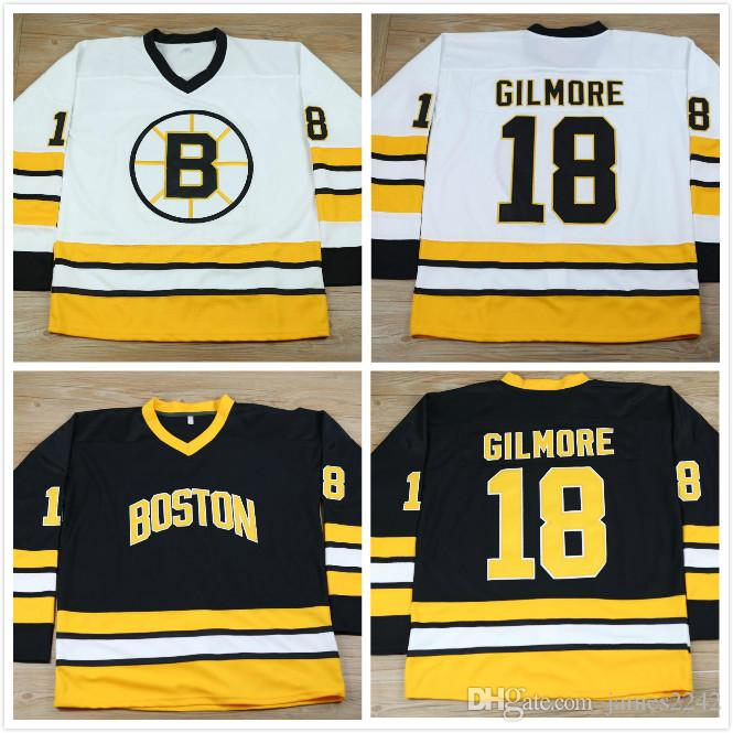 yellow and black hockey jersey