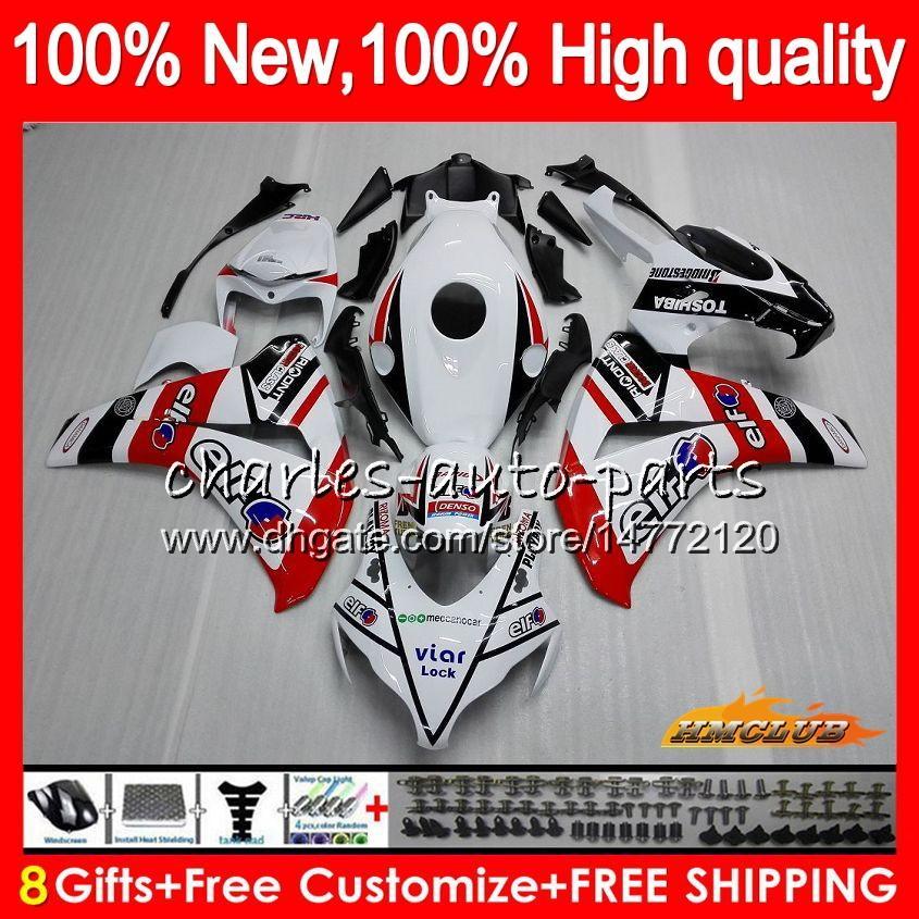 Corpo Per Honda CBR 1000RR rosso bianco nuova CBR 1000 RR 1000CC CC 79HC.26 CBR1000 RR CBR1000RR 08 09 10 11 2008 2009 2010 Kit OEM carenature 2011