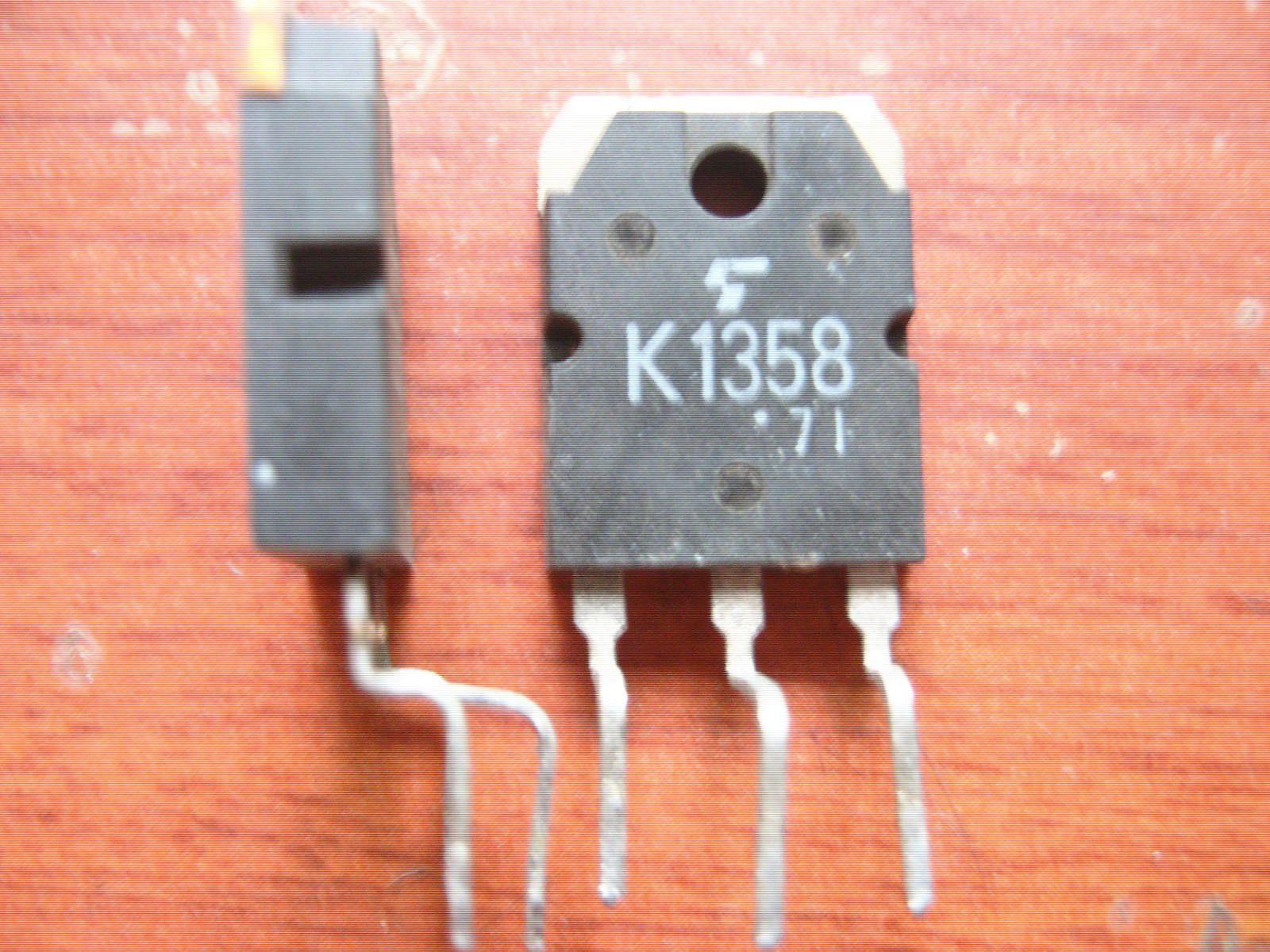 Original usado transistor de efeito de campo 2SK1358 K1358 MOSFET TO-247 TO-3P Teste Ok