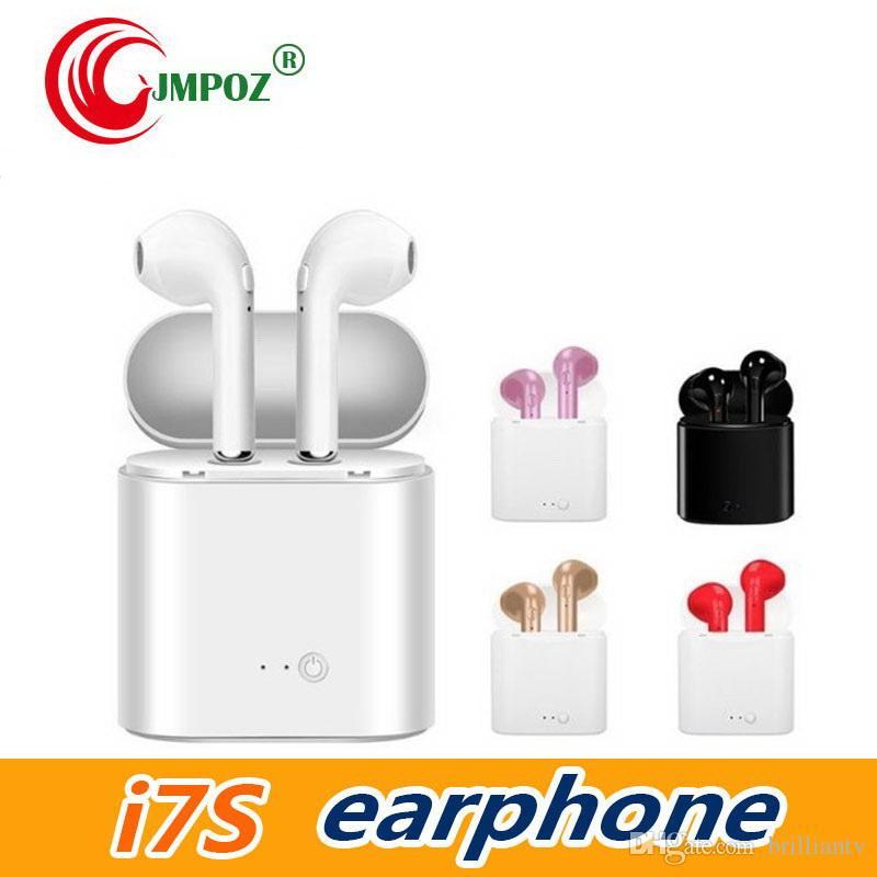 Nuevo i7s Tws Auriculares Bluetooth Auriculares Ture Wireless Bluetooth Doble auricular Auriculares deportivos Auriculares estéreo Biauriculares Para todos los teléfonos móviles