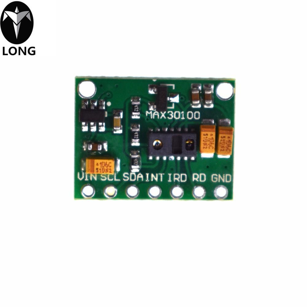 Module MAX30100 Heart Rate Oximetry Sensor Module Heart Rate Sensor  Breakout Ultra Low Power Consumption For Arduino Electronics Websites  Mobiles