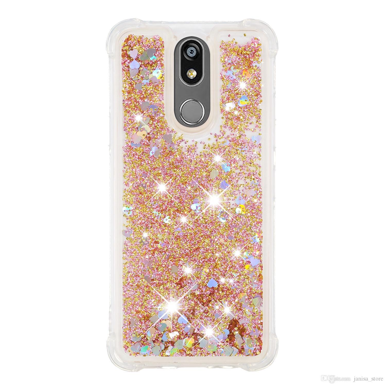 2019 anti-queda TPU macio e macio primeiro lote de shell areia movediça no-fluxo do telefone móvel para LG K40 K12 PLUS