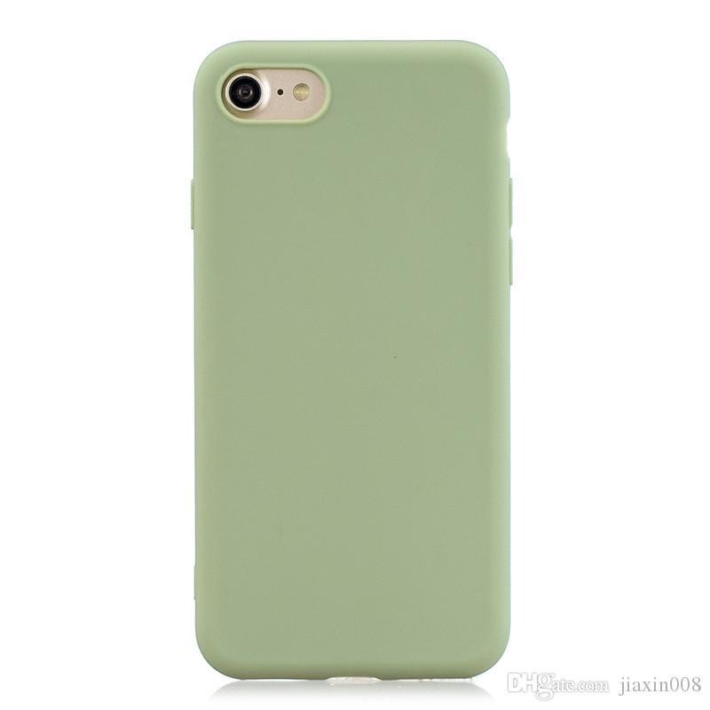 Para iPhone 6 6S 6 Plus 6S Mais de caso capa macia fosco TPU Casos para iPhone 7 7 Plus / 8 8 Plus