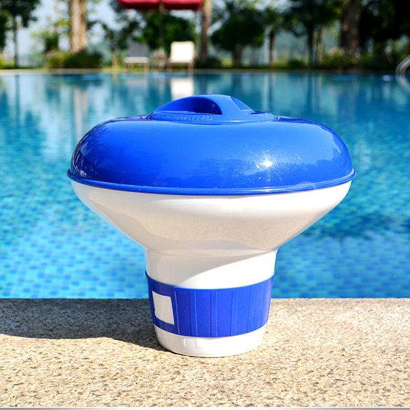 De gran capacidad ajustable flotante de cloro Dispensador para interiores Piscinas al aire libre
