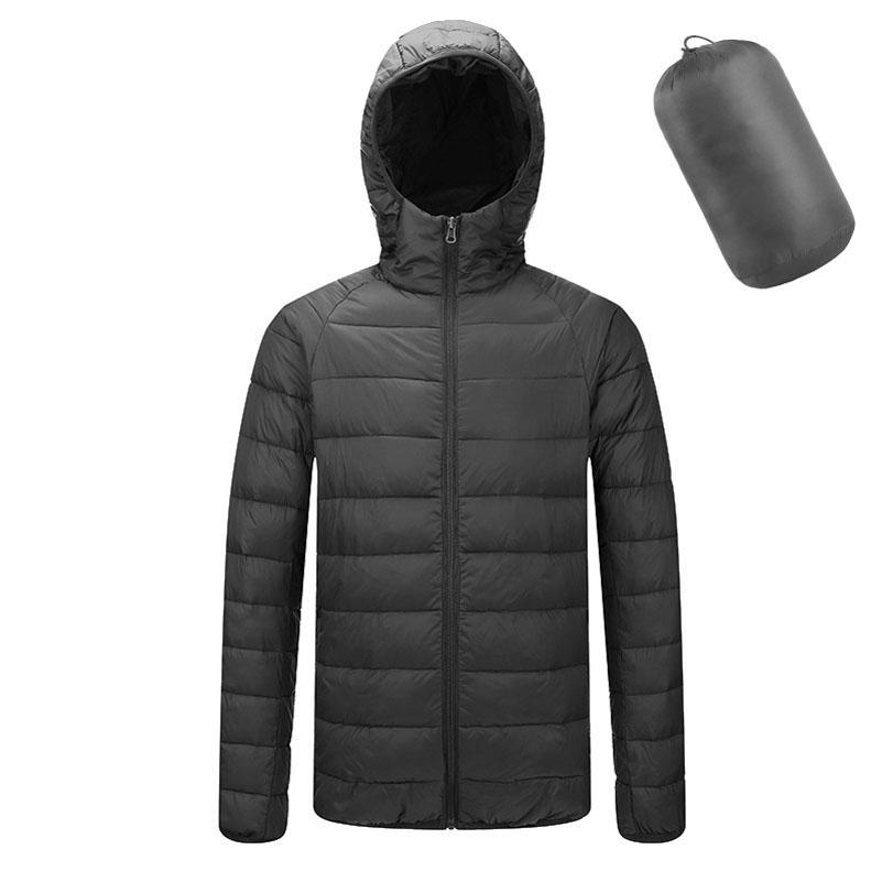 QPFJQD Waterproof Outerwear Jacket Men Cotton Padded Jackets Hoodie Male Zipper Parka And Coats Man Winter Parkas Spring Autumn