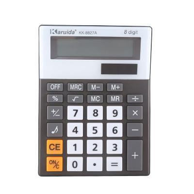 8 dígitos calculadora portátil Prático Escritório Calculadora Banda Som Comércio Eletrônico Contabilidade calculadora de mesa de papelaria Livre Shipp