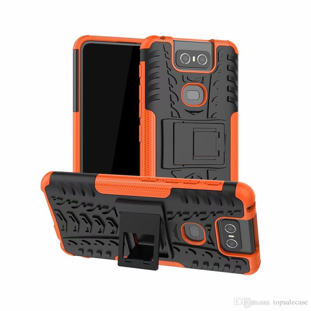 Для Asus Zenfone 6 ZS630KL Красочный прочный комбинированный гибридный чехол Защитный чехол для Asus Zenfone 6 ZS630KL